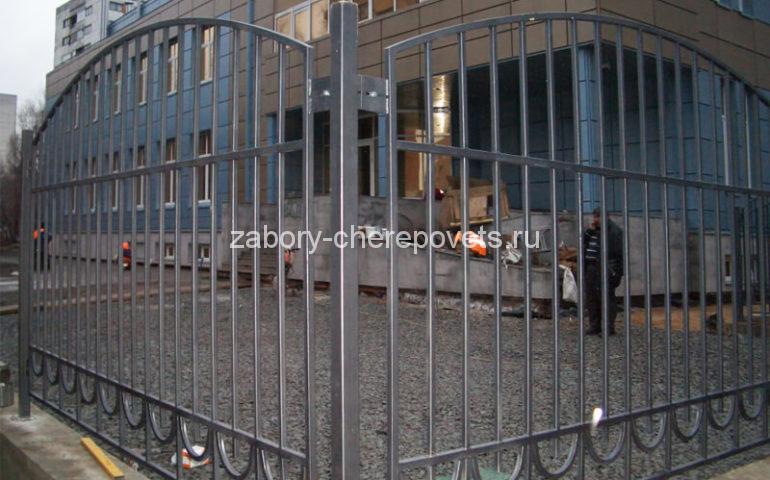 забор из профтрубы в Череповце